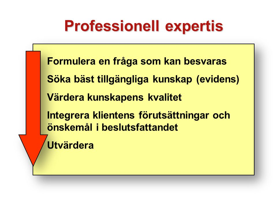 Professionell expertis