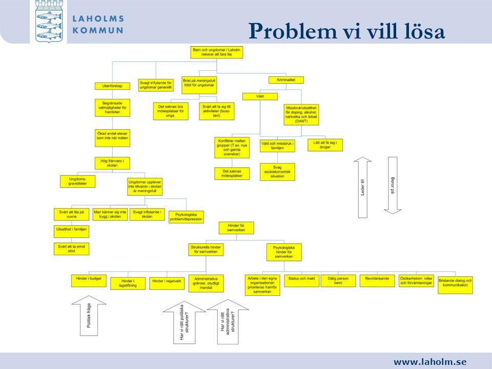 Problem vi vill lösa