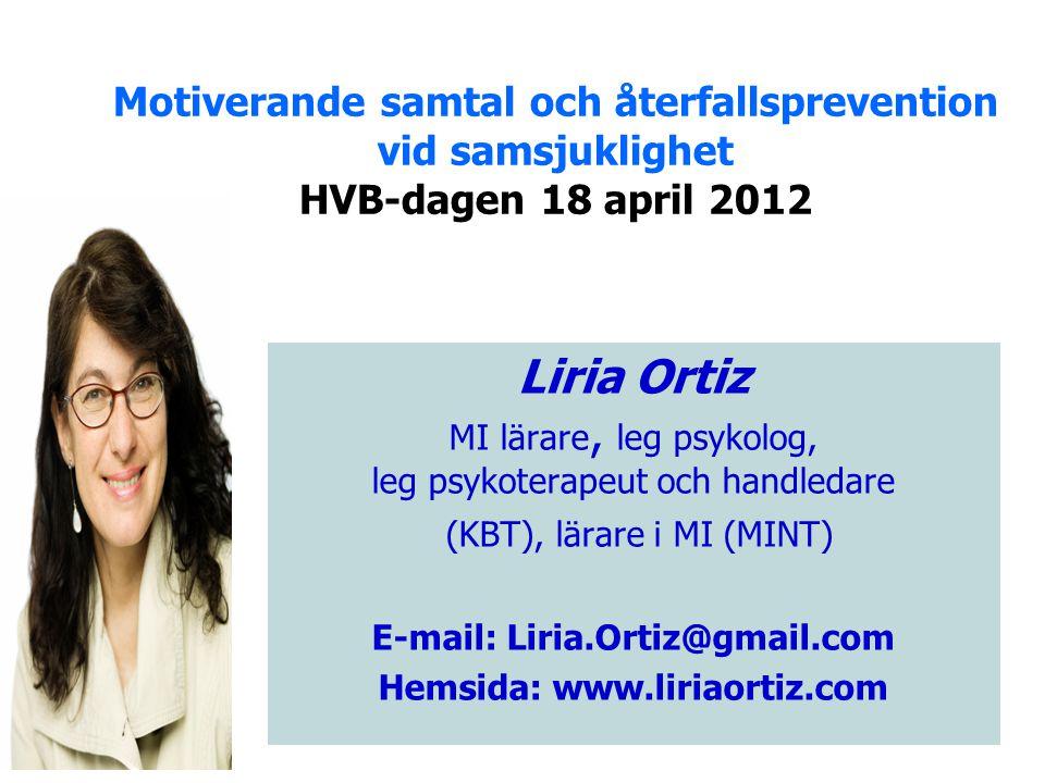 Hemsida: www.liriaortiz.com