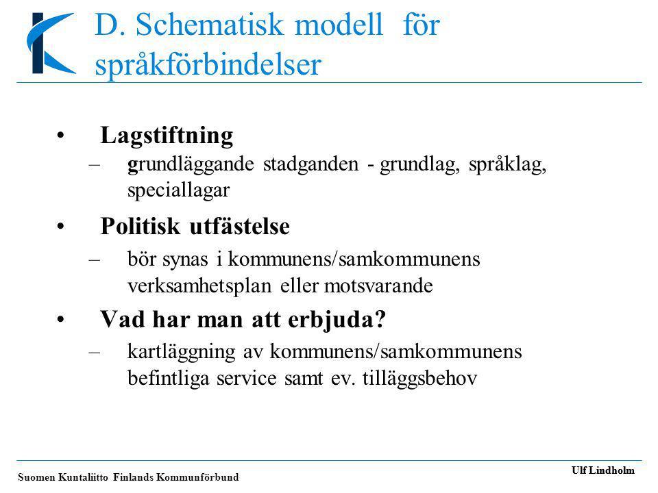 D. Schematisk modell för språkförbindelser