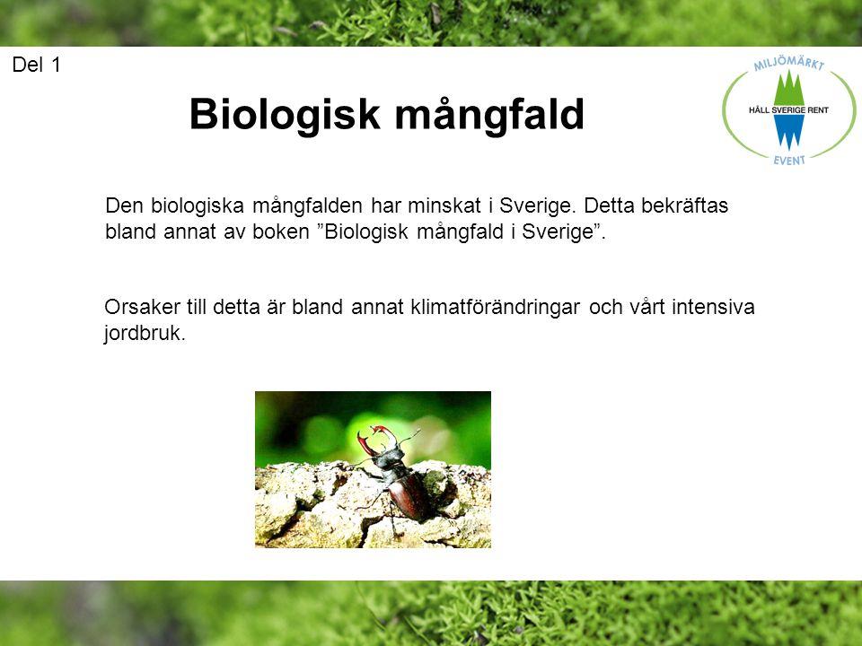 Biologisk mångfald Del 1