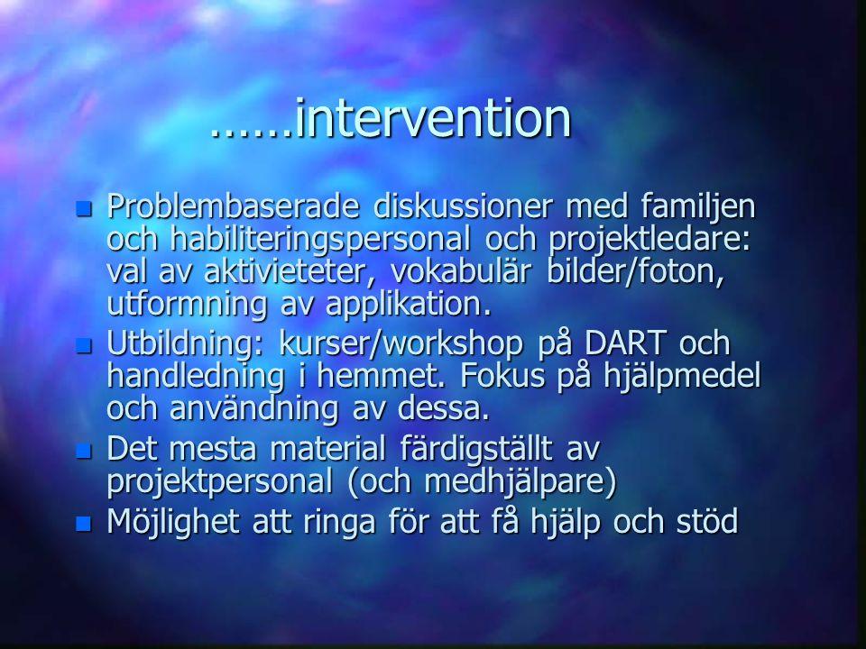 ……intervention