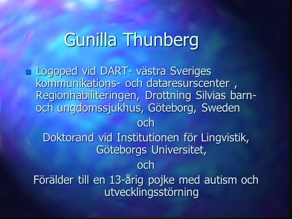 Gunilla Thunberg