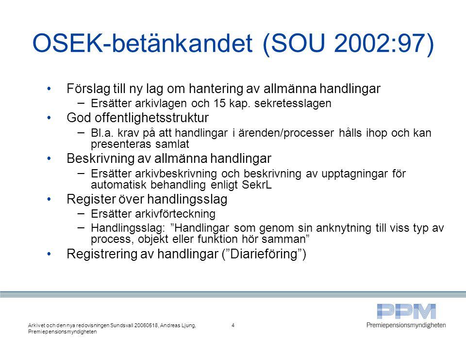 OSEK-betänkandet (SOU 2002:97)