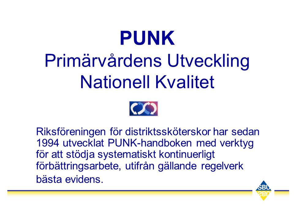 PUNK Primärvårdens Utveckling Nationell Kvalitet