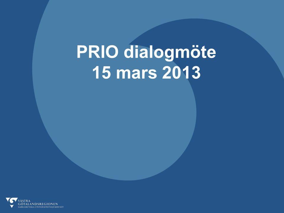 PRIO dialogmöte 15 mars 2013
