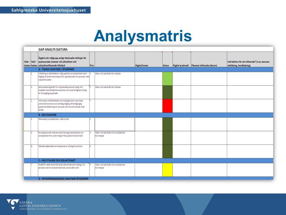 Analysmatris