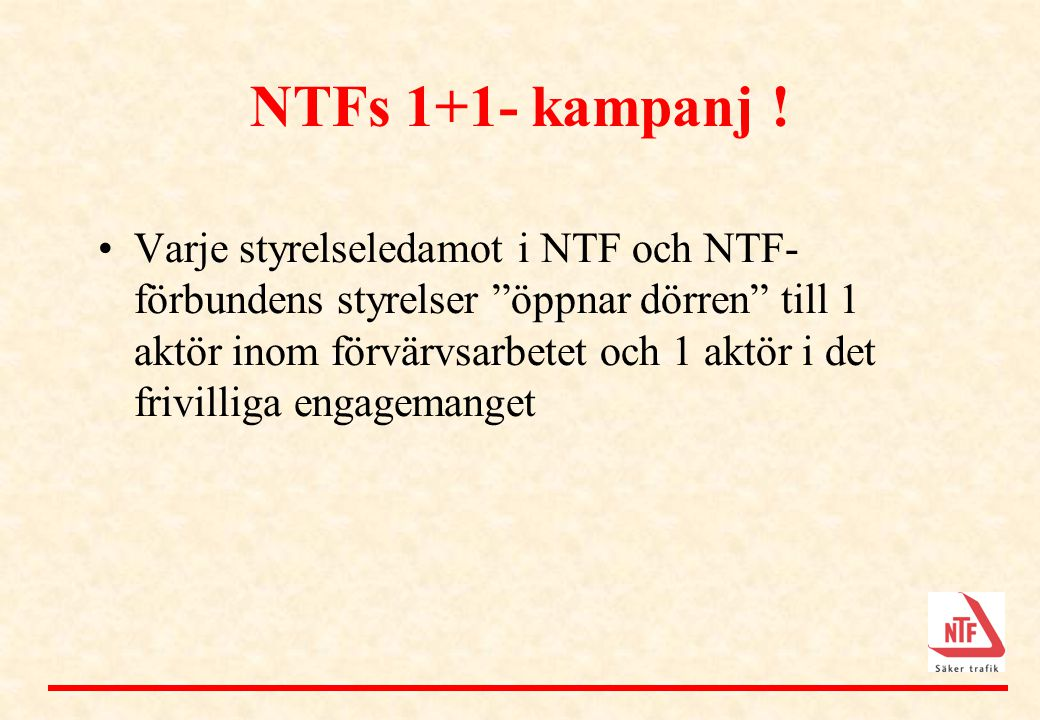 NTFs 1+1- kampanj !