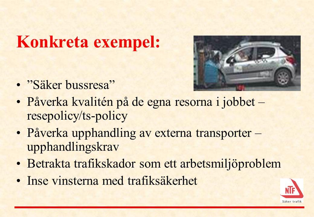 Konkreta exempel: Säker bussresa