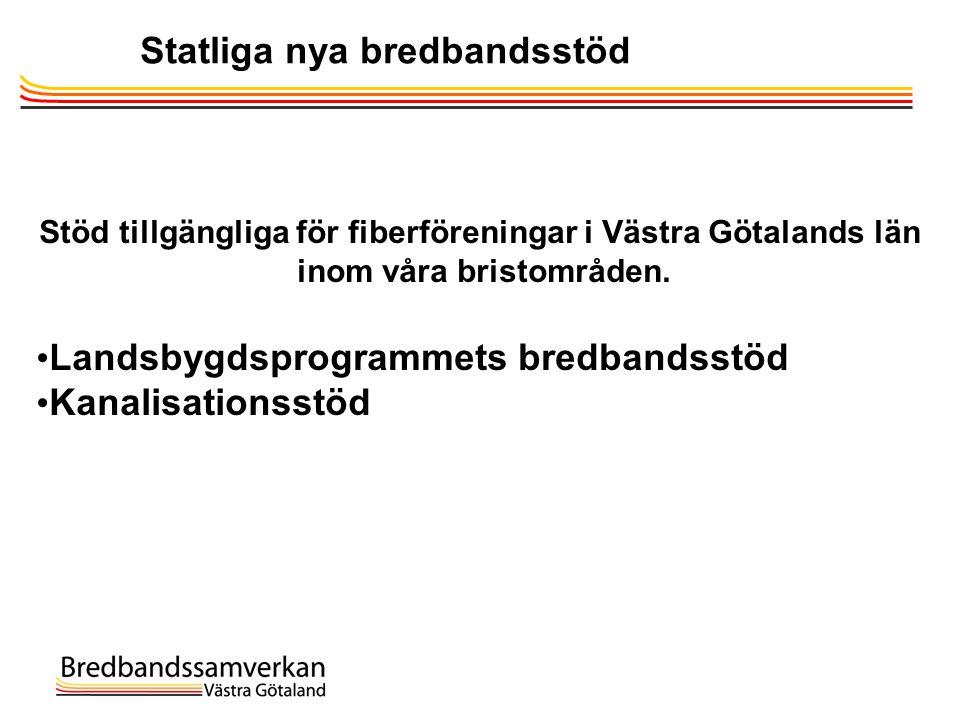 Statliga nya bredbandsstöd