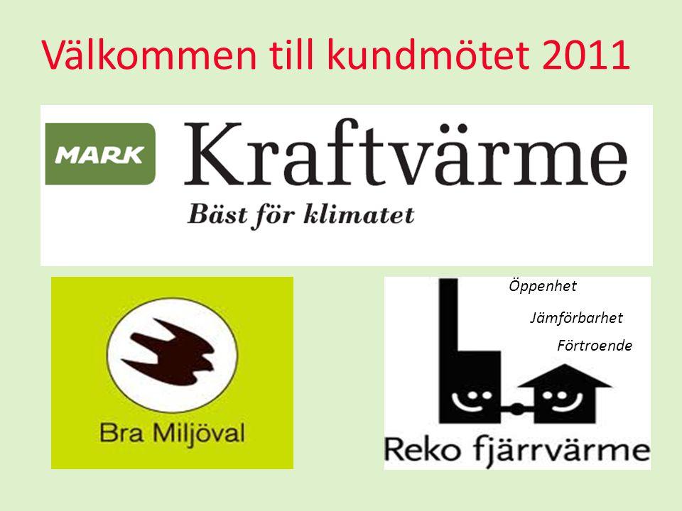Välkommen till kundmötet 2011