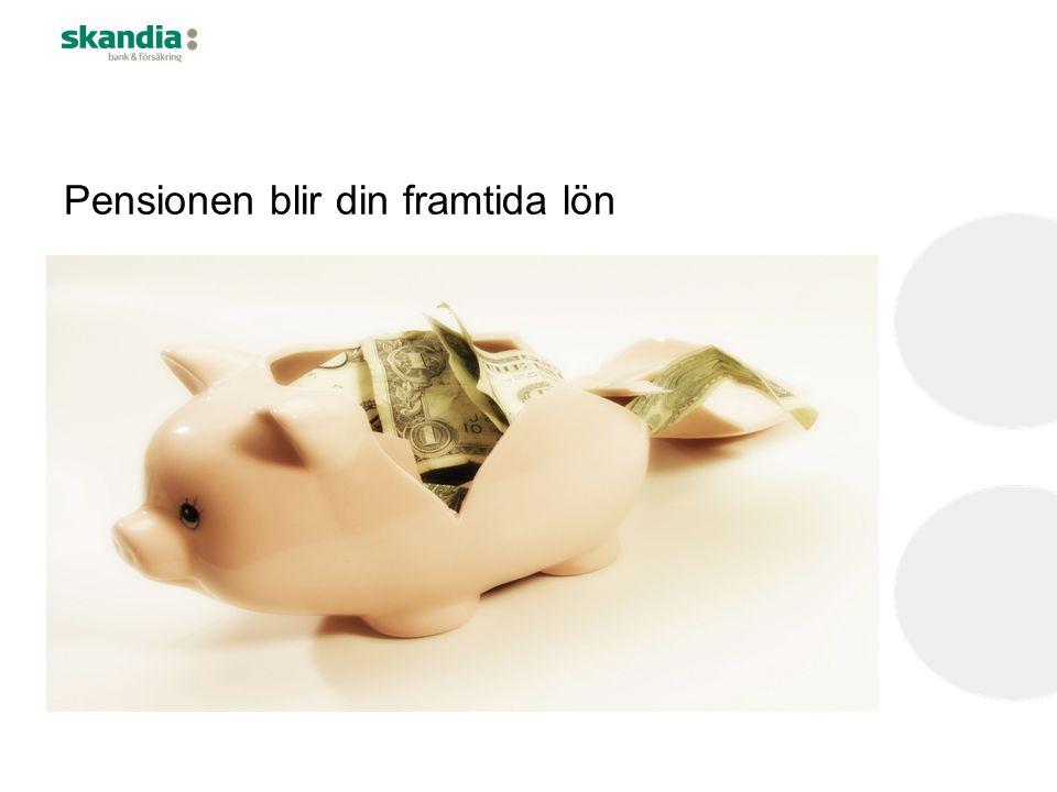 Pensionen blir din framtida lön