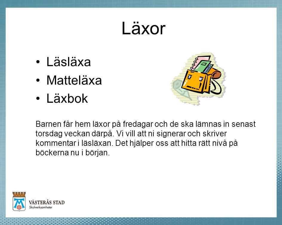 Läxor Läsläxa Matteläxa Läxbok