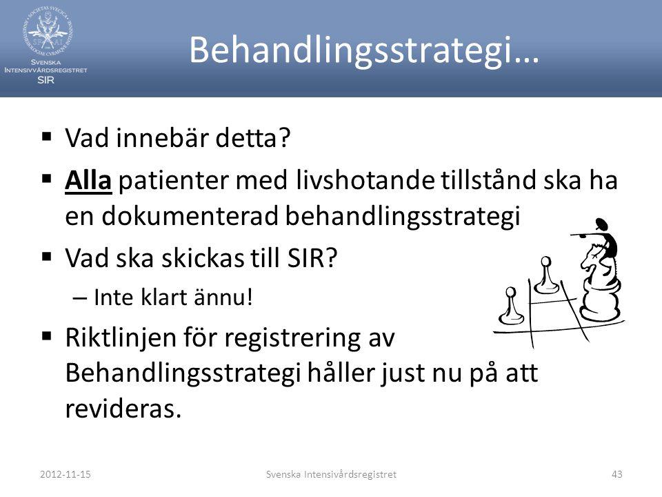 Behandlingsstrategi…