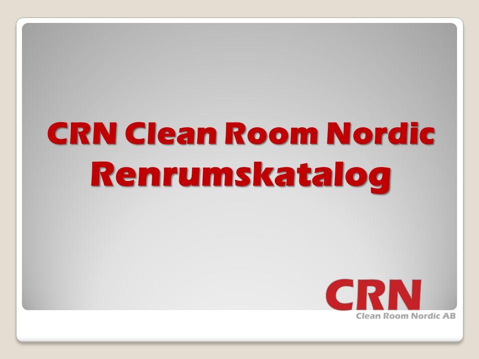 CRN Clean Room Nordic Renrumskatalog