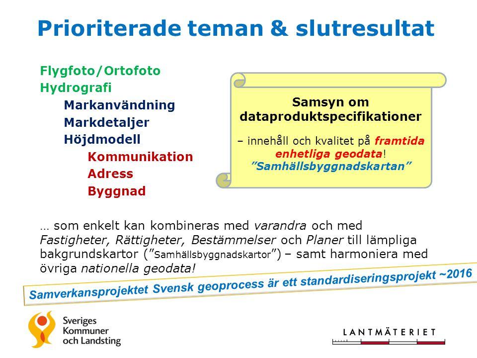 Samsyn om dataproduktspecifikationer