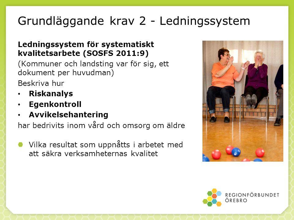 Grundläggande krav 2 - Ledningssystem