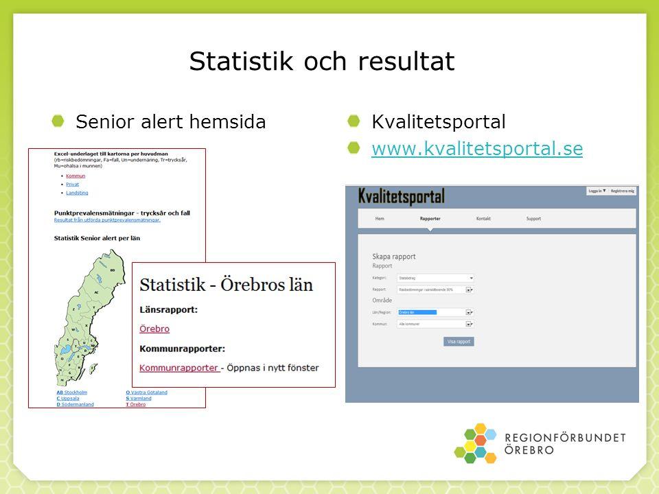 Statistik och resultat