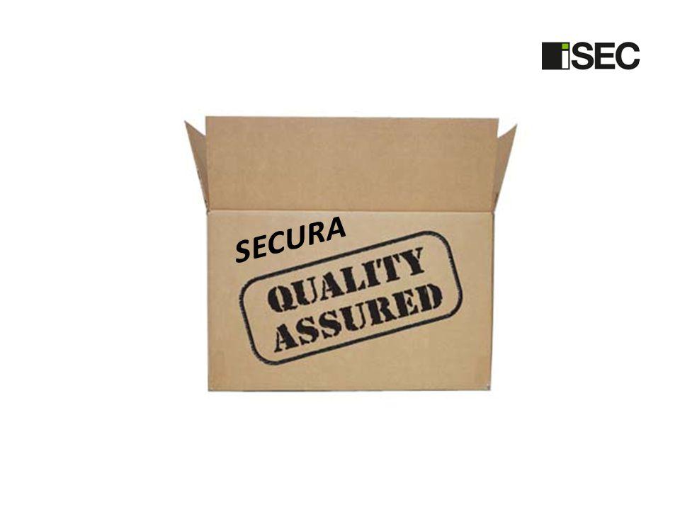 SECURA Pakteringa några standard Fonda och Secura i samma DB