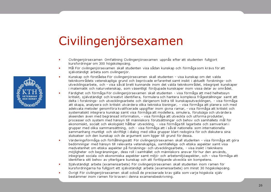 Civilingenjörsexamen