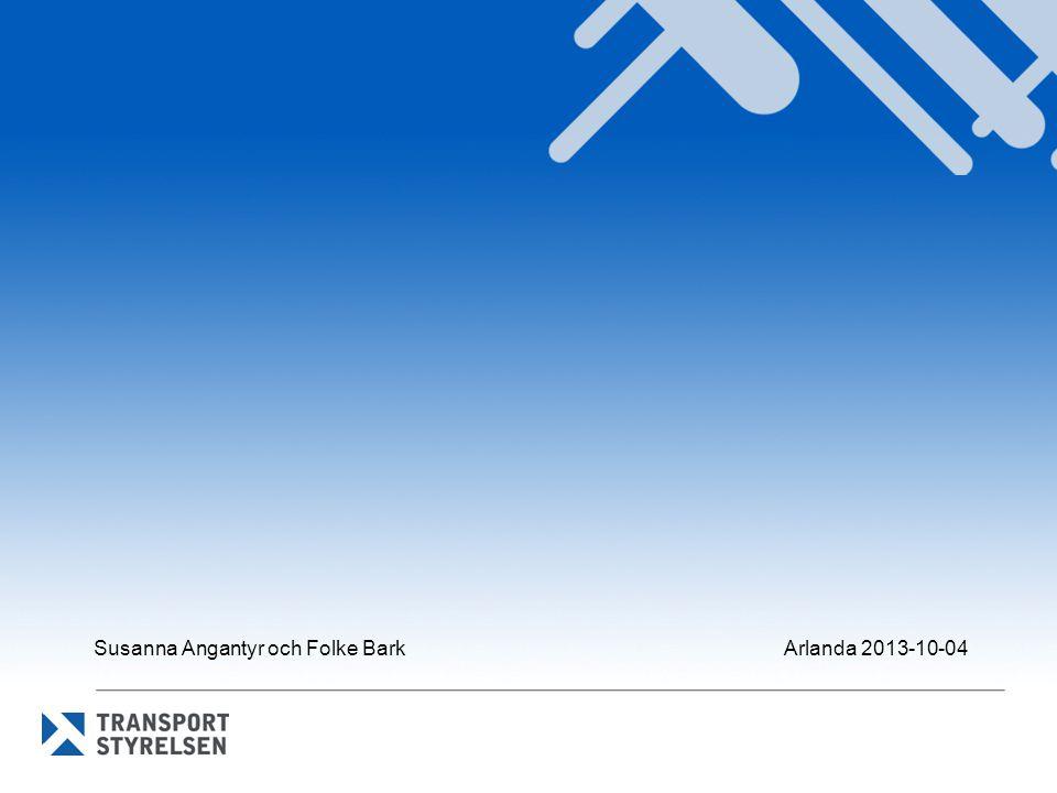 Susanna Angantyr och Folke Bark Arlanda 2013-10-04