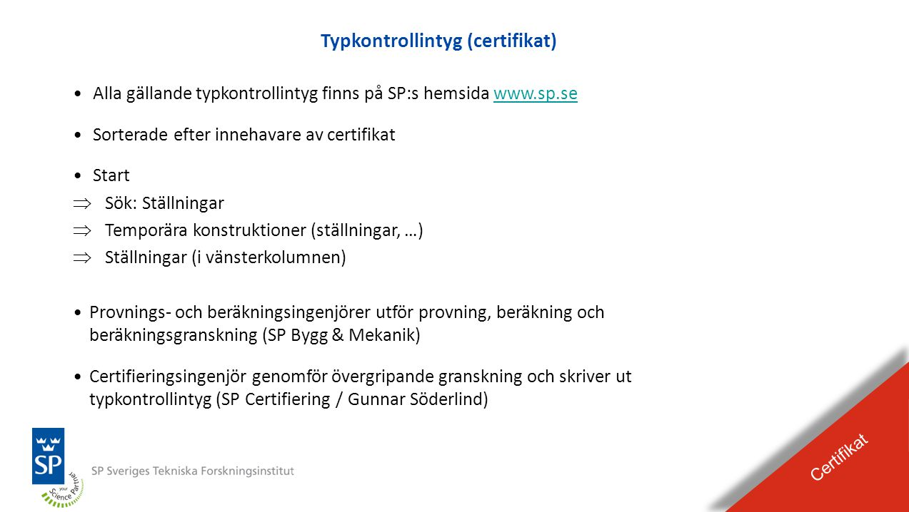 Typkontrollintyg (certifikat)