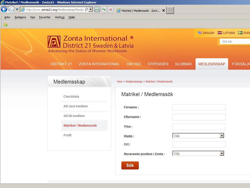 Medlemsmatrikel web: D21 och ZI