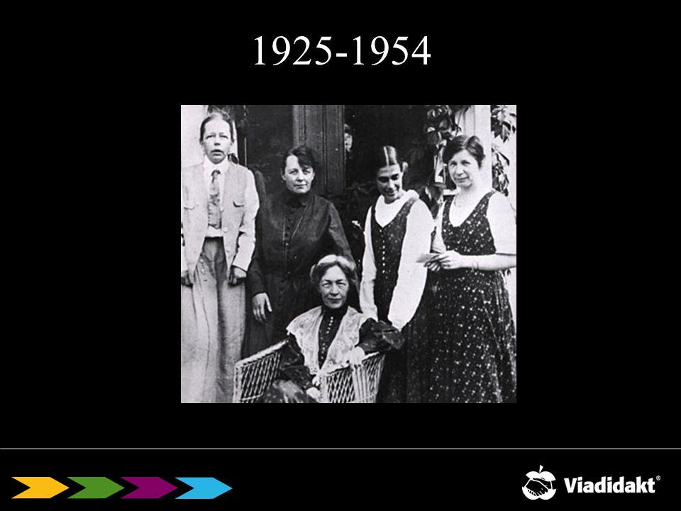 1925-1954 Karin:När kvinnorna i Sverige fick rösträtt kom en handfull kvinnor in i riksdagen.