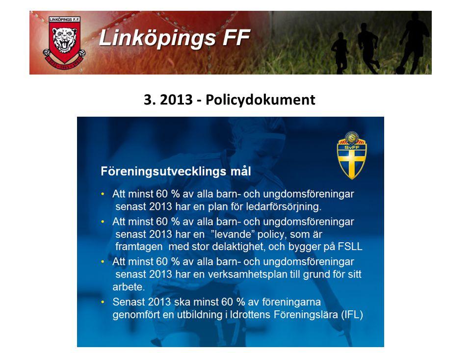3. 2013 - Policydokument