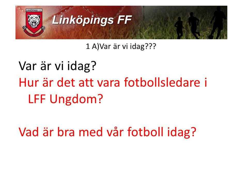 Hur är det att vara fotbollsledare i LFF Ungdom