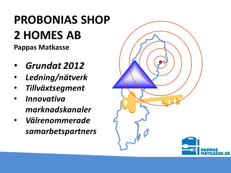 PROBONIAS SHOP 2 HOMES AB