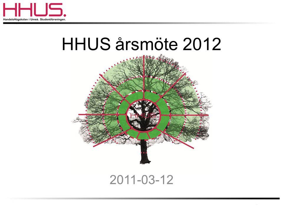 HHUS årsmöte 2012 2011-03-12