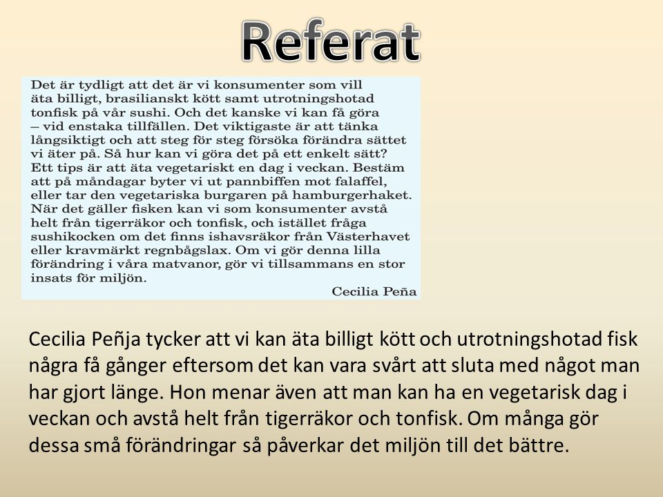 Referat