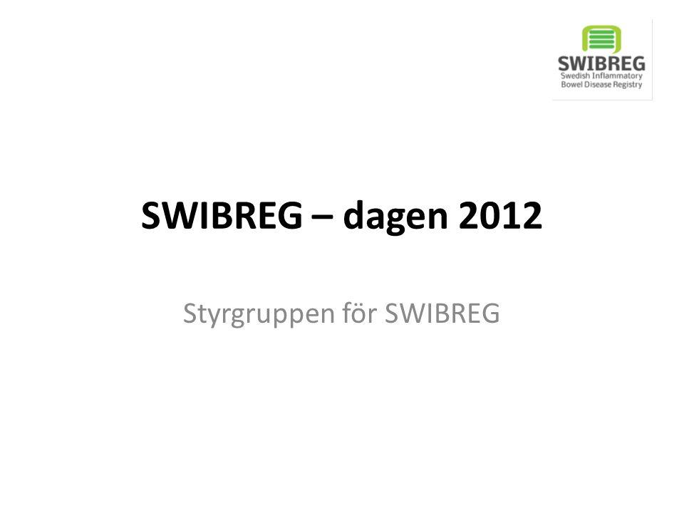 Styrgruppen för SWIBREG