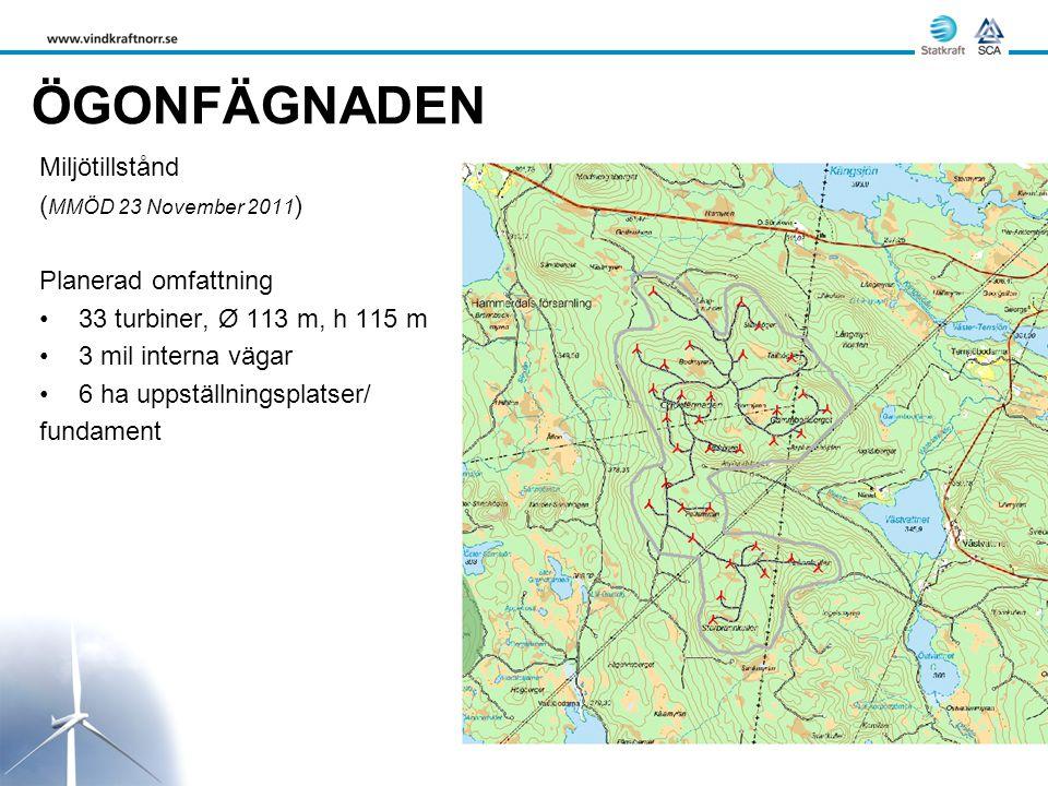 ÖGONFÄGNADEN Miljötillstånd (MMÖD 23 November 2011)