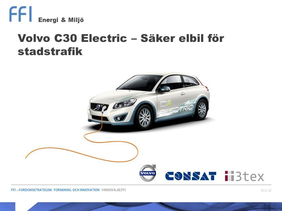 Volvo C30 Electric – Säker elbil för stadstrafik