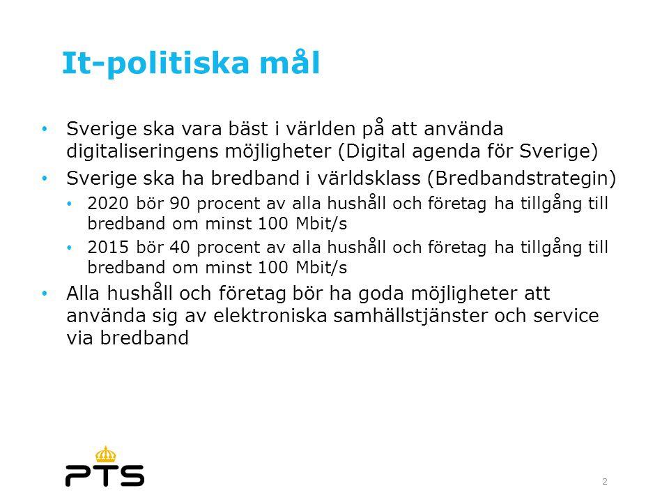 2017-04-03 It-politiska mål. Sverige ska vara bäst i världen på att använda digitaliseringens möjligheter (Digital agenda för Sverige)