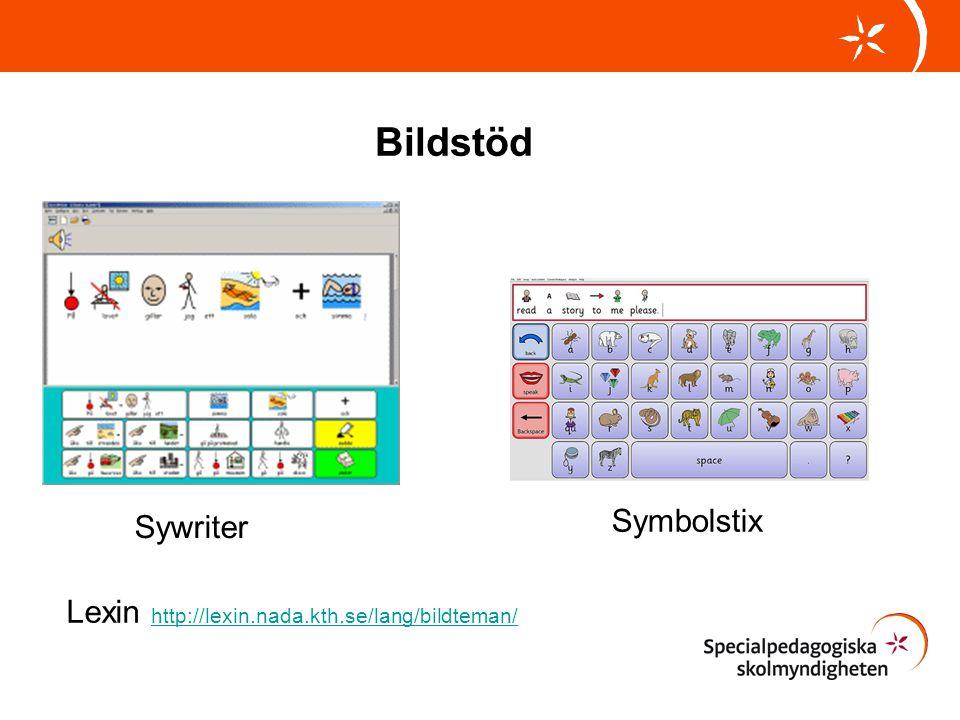 Bildstöd Symbolstix Sywriter