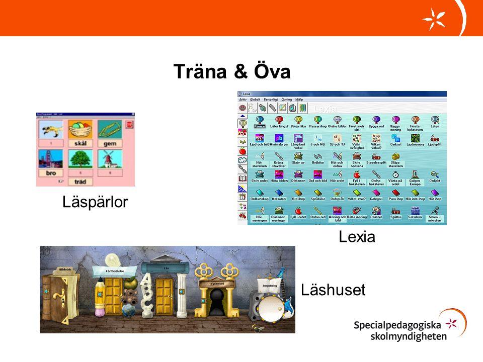 Träna & Öva Läspärlor Lexia Läshuset