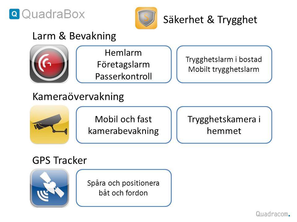 Säkerhet & Trygghet Larm & Bevakning Kameraövervakning GPS Tracker