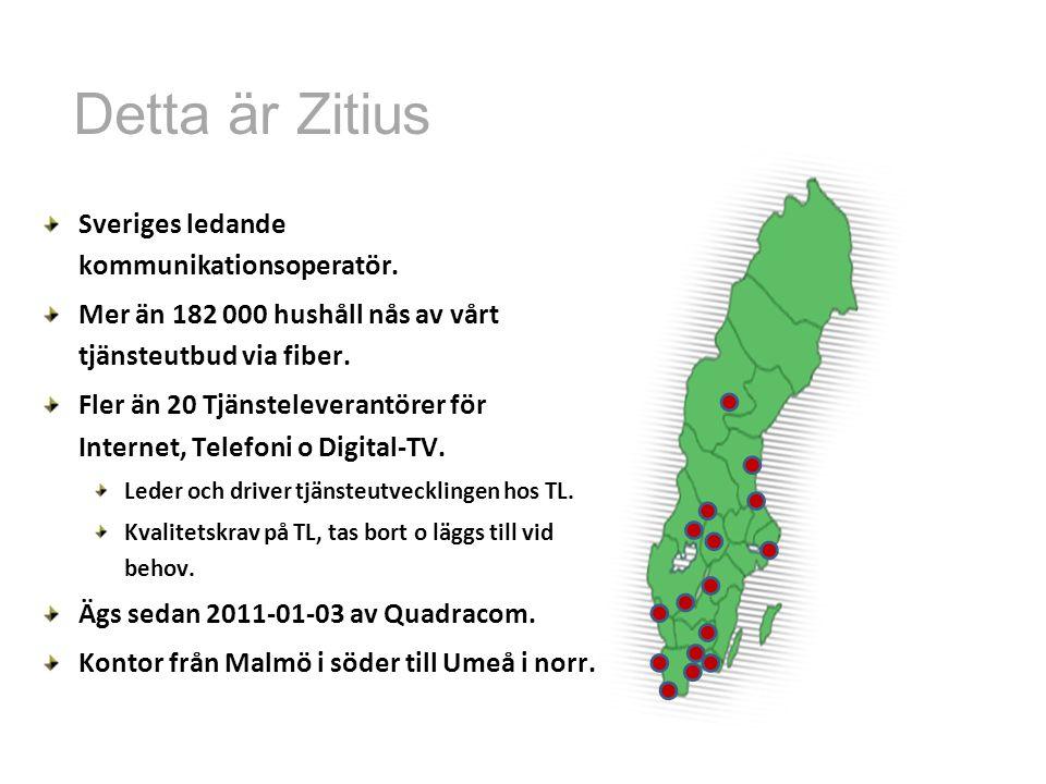 Detta är Zitius Sveriges ledande kommunikationsoperatör.