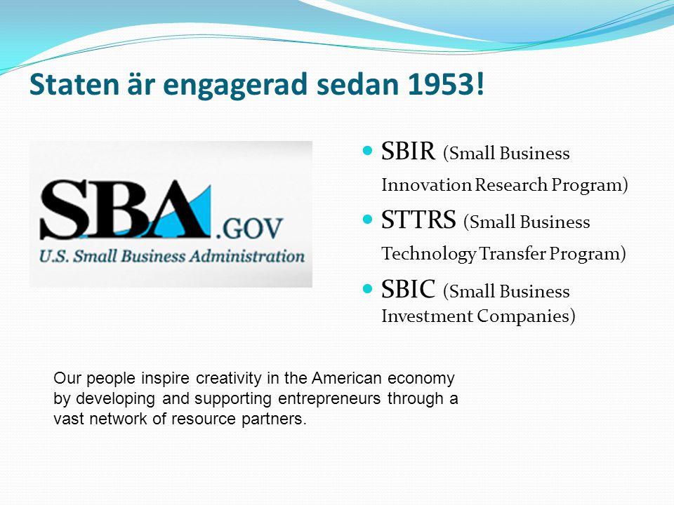Staten är engagerad sedan 1953!