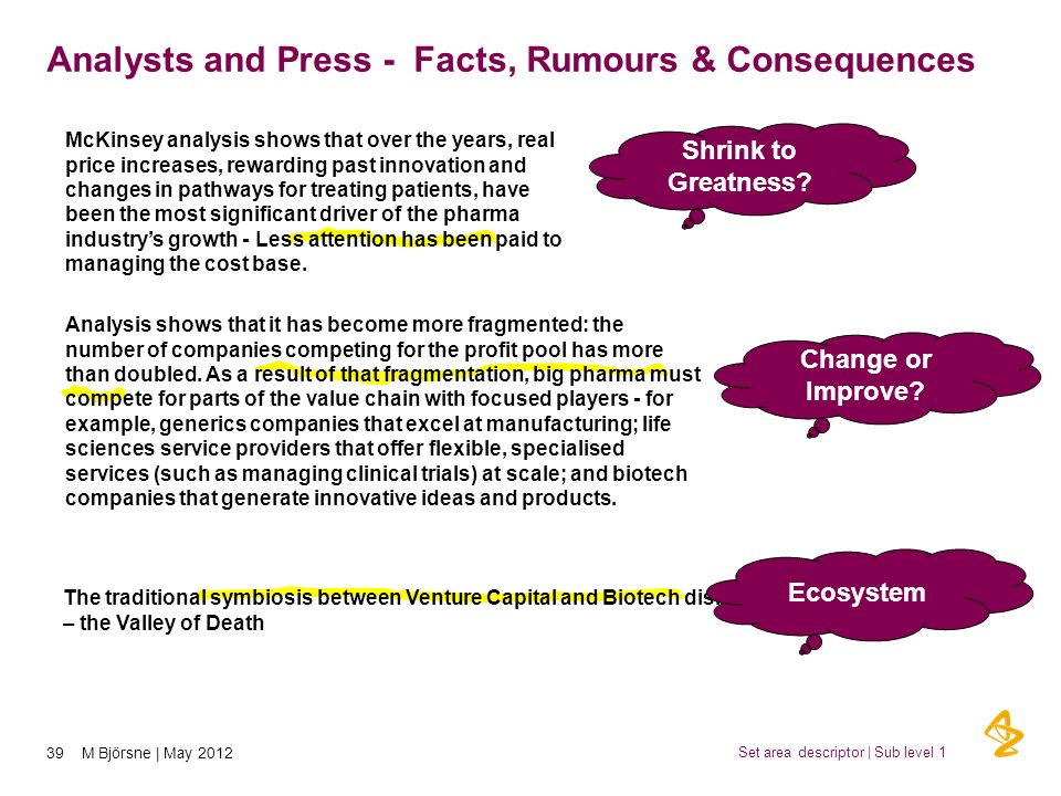 Analysts and Press - Facts, Rumours & Consequences