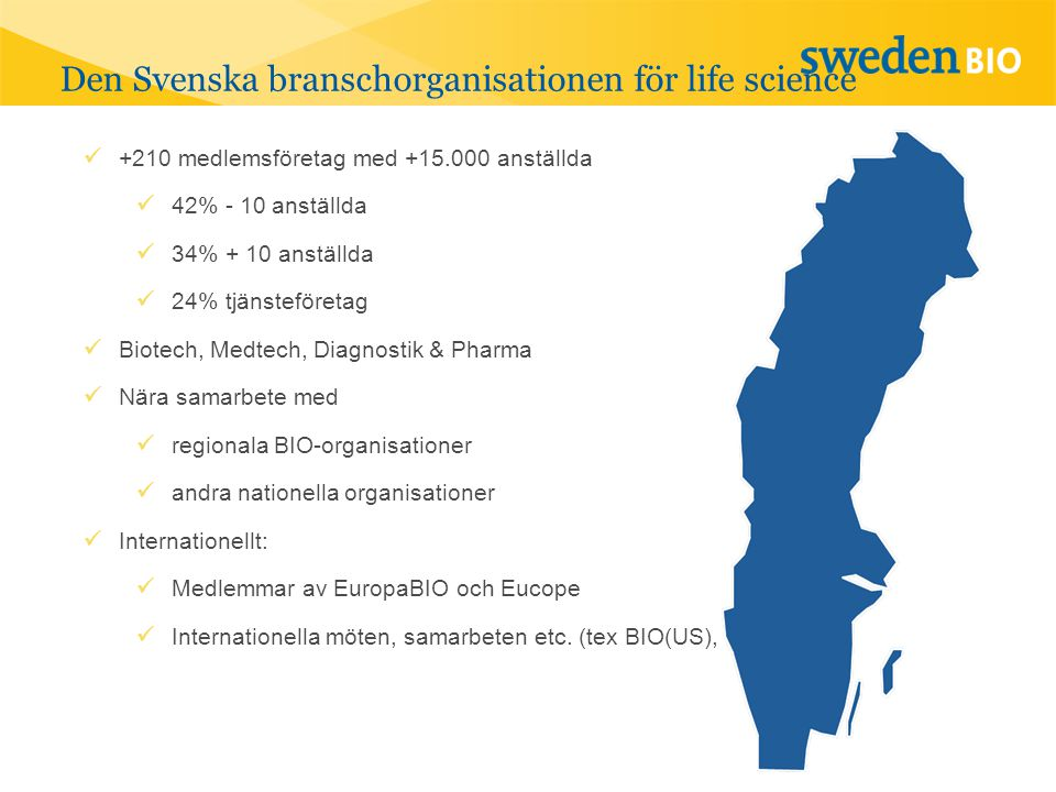 Den Svenska branschorganisationen för life science