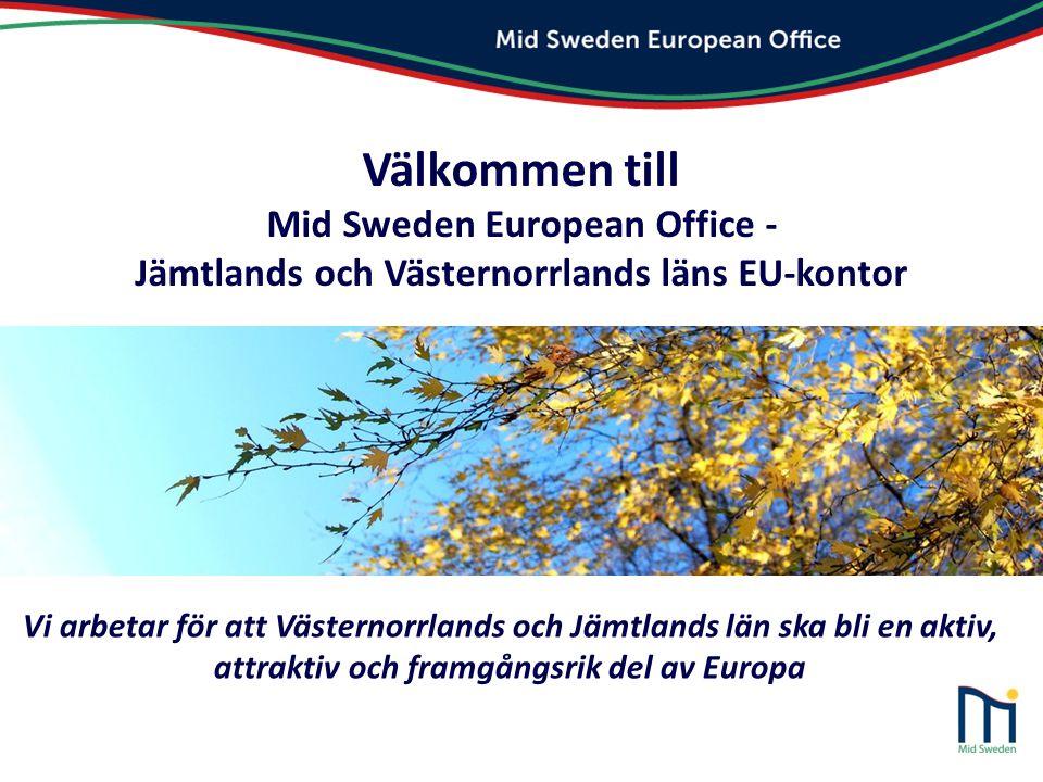Välkommen till Mid Sweden European Office -