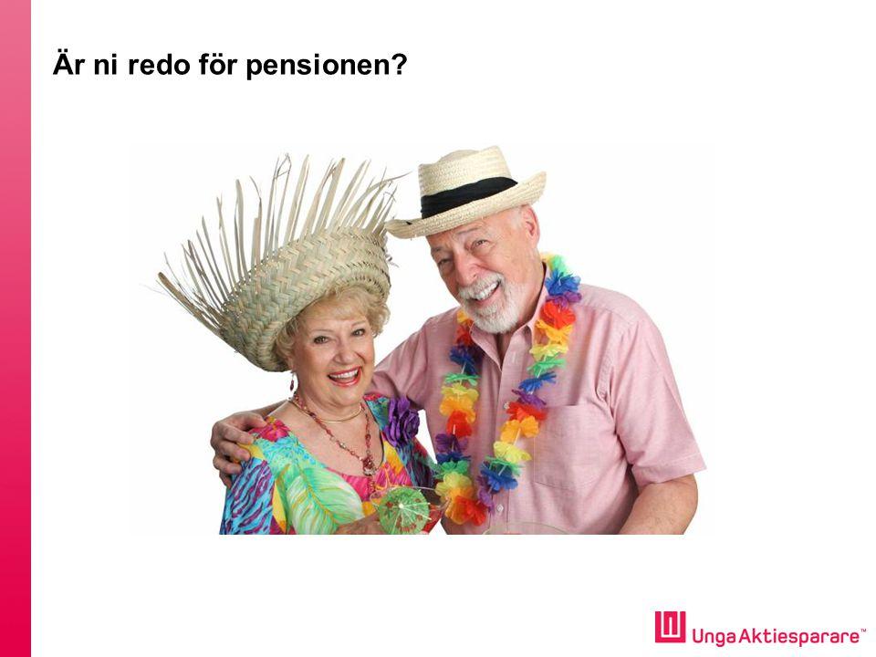 Är ni redo för pensionen
