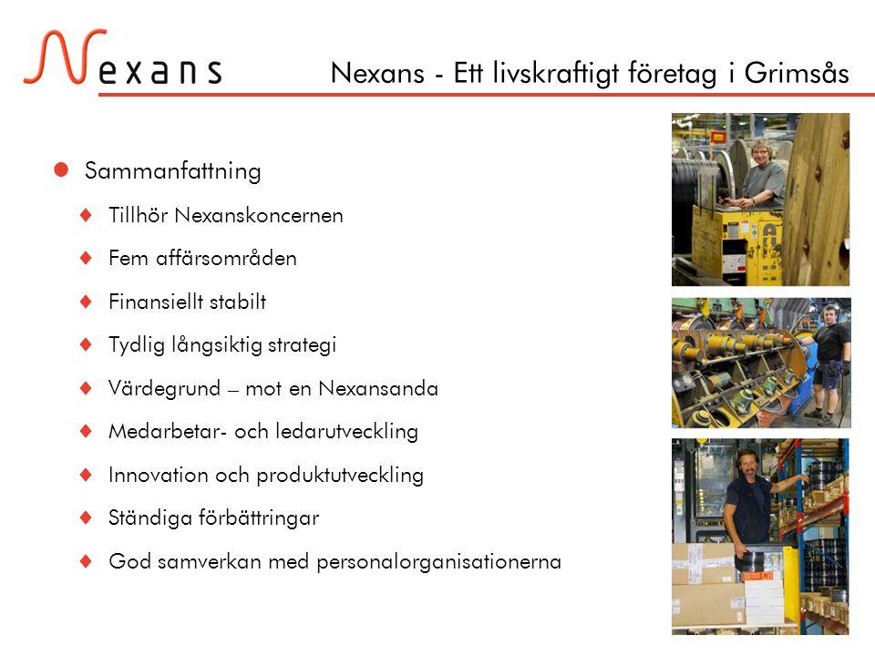 Nexans - Ett livskraftigt företag i Grimsås