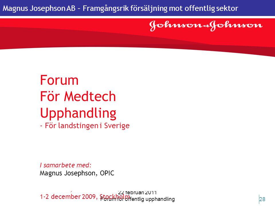 Forum för offentlig upphandling
