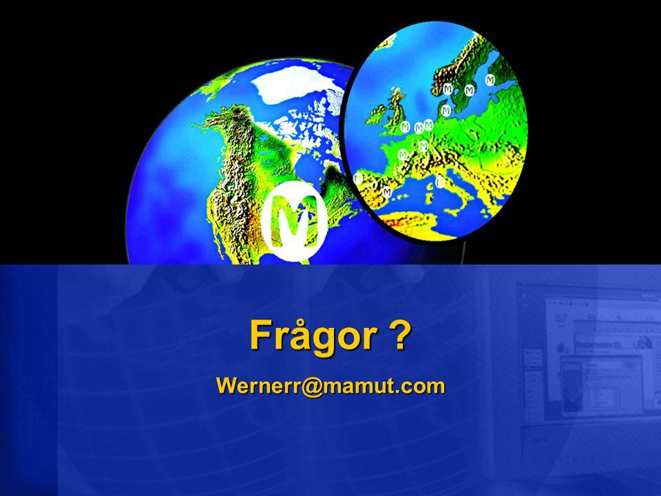 Frågor Wernerr@mamut.com