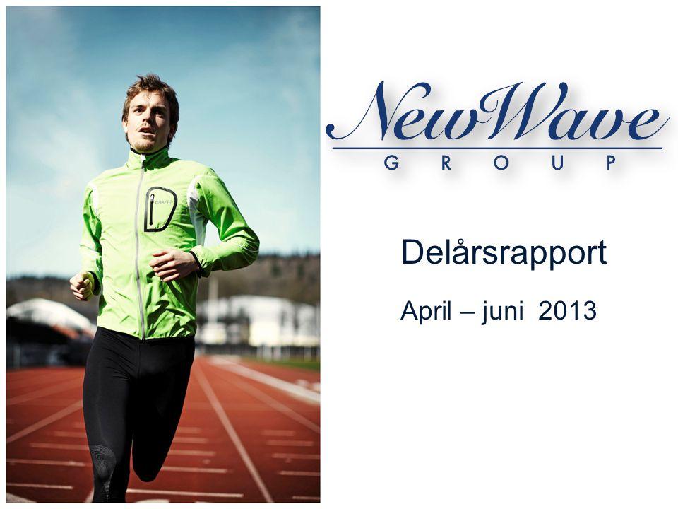 Delårsrapport April – juni 2013